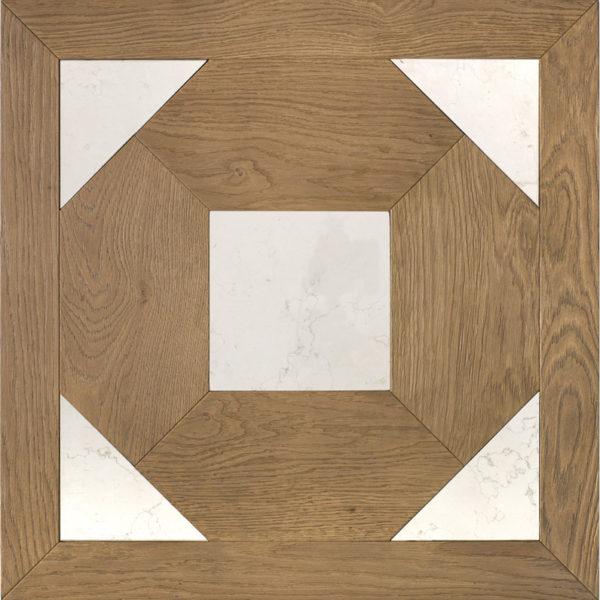 Модульный паркет Oak and white stone от Bassano Parquet