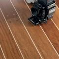 Паркетная доска Паркетная доска Мербау со светлой линией и гвоздиками от Boen
