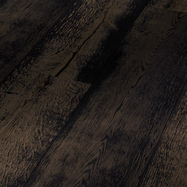 Паркетная доска Паркетная доска Дуб Черный мытый от Meister
