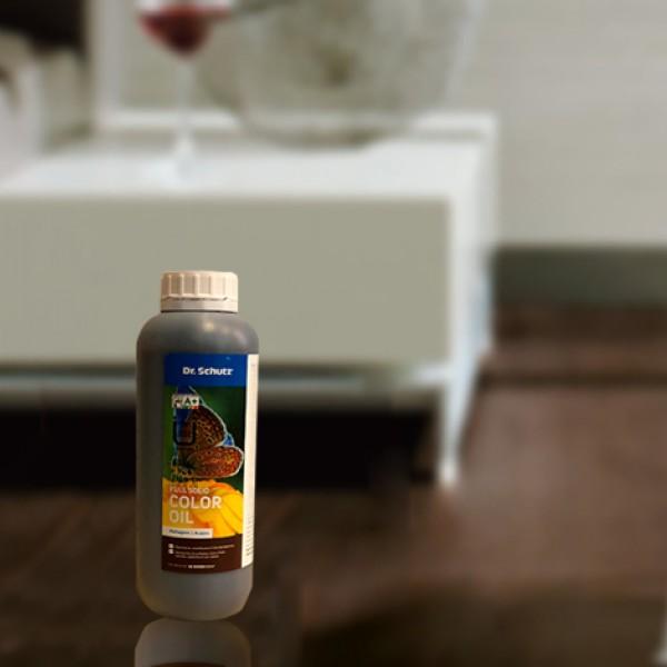 Паркетная химия Цветное масло для паркета Mahogany от Dr-schutz