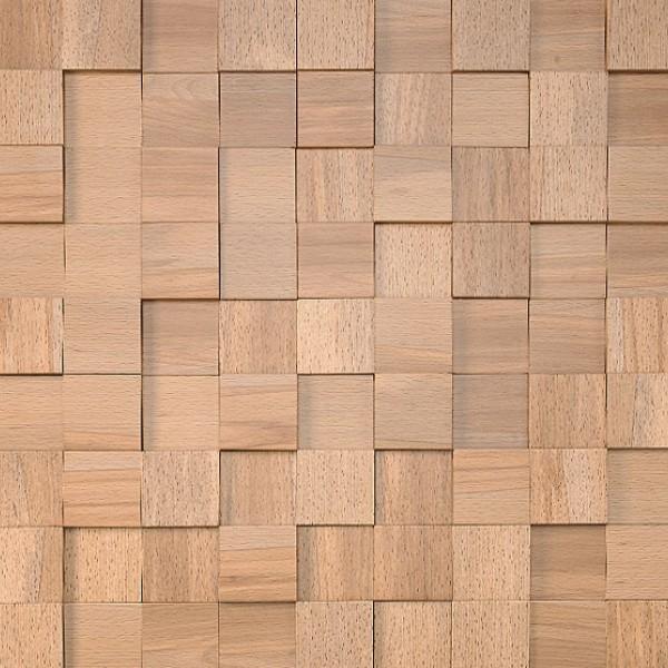Стеновые панели Стеновые панели Квадратики светлый ясень от Esse