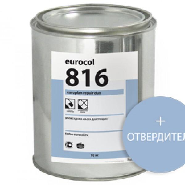 Паркетная химия Ремонтная смесь 816 Europlan Repair Duo от Forbo Eurocol