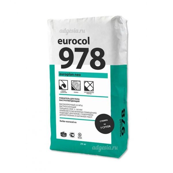 Паркетная химия Выравниватель для пола 978 Europlan Neo от Forbo Eurocol