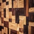 Стеновые 3D панели Стеновые панели Хаус 3D 5.М.2.1 Дуб / Термоясень от Tarsi