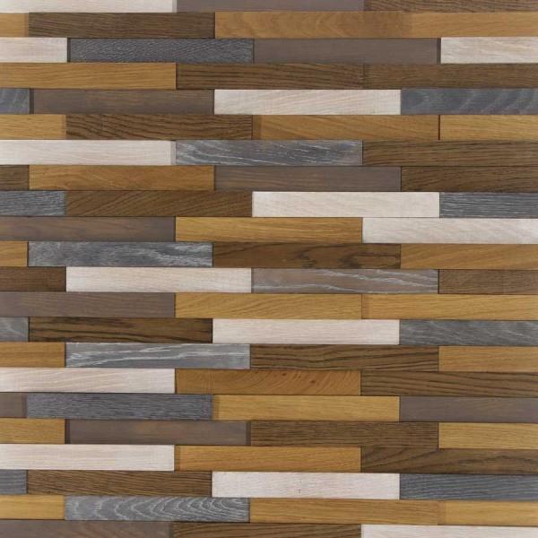 Стеновые 3D панели Стеновые панели Дуб Pixel Art-3 Астра от Tarsi