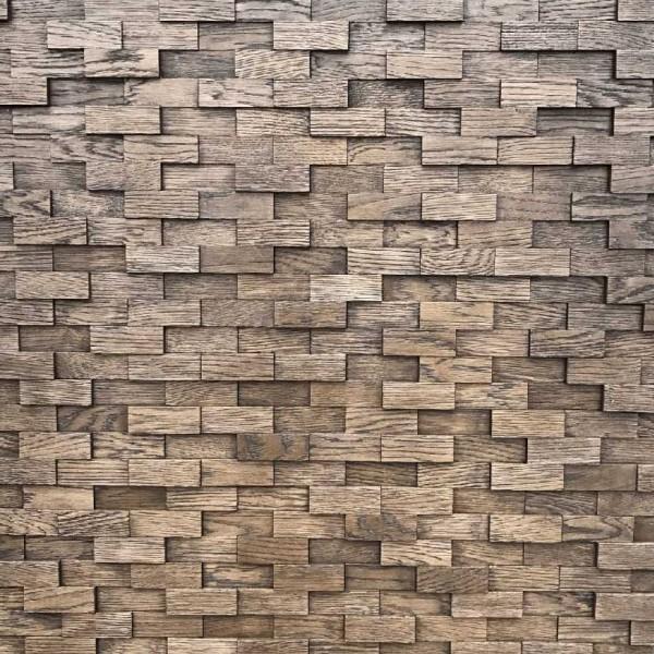 Стеновые 3D панели Стеновые панели Дуб Рубка 3D 4.0.4.0 Венге от Tarsi